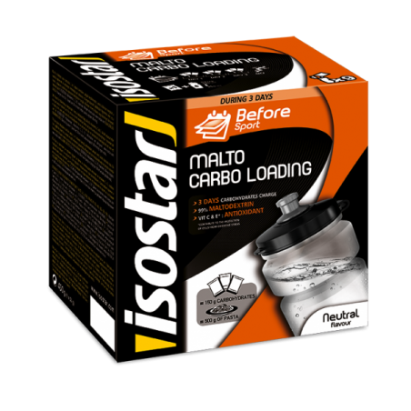 ISOSTAR MALTO CARBO LOADING, 450 g