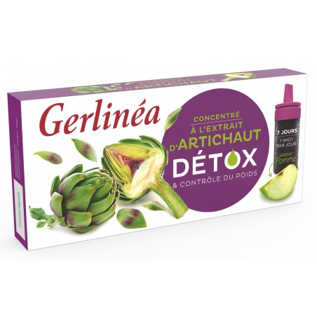 GERLINEA SHOT DETOXIFIANT ANGHINARE, 70ml
