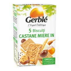 GERBLE MINIPACK BISC.OMEGA 3 CASTANE-IN 50g