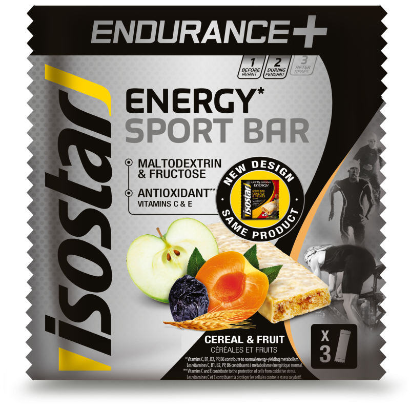 ISOSTAR LONG ENERGY ENDURANCE BAR, 3X40 g