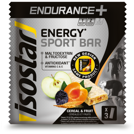 ISOSTAR LONG ENERGY ENDURANCE BAR, 3X40 g