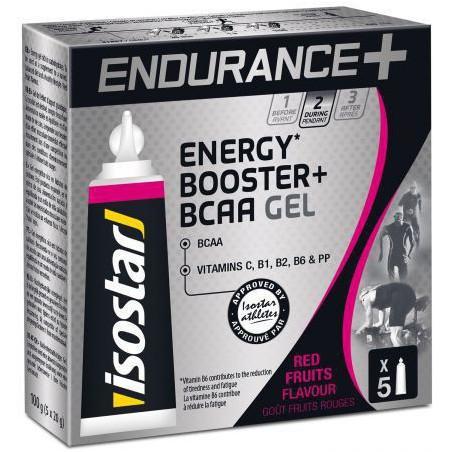 ISOSTAR ENDURANCE + BCAA GEL, 5X20 g