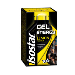 ISOSTAR ENERGY GEL LEMON, 4x35 g