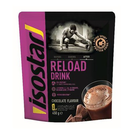 ISOSTAR RELOAD AFTER SPORT DRINK, 450 g