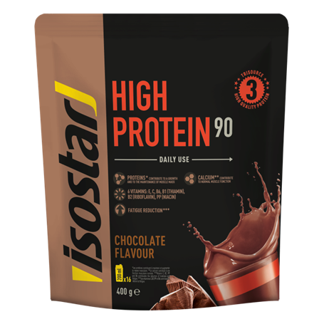 ISOSTAR POWERPLAY HIGH PROTEIN 90 CIOCOLATA, 400 g