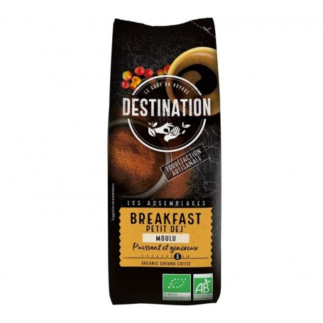 ECO DESTINATION CAFEA MACINATA BREAKFAST 250G