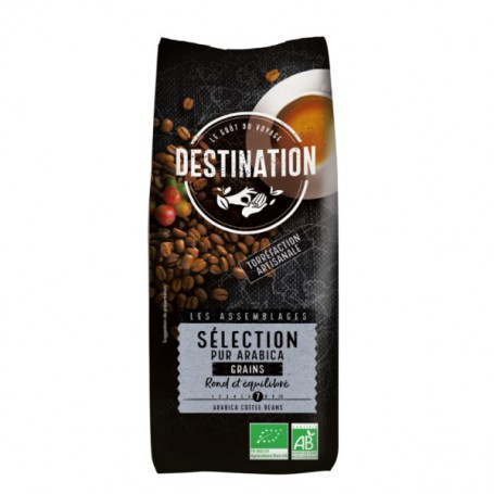 ECO DESTINATION CAFEA BOABE PUR ARABICA SELECTION 1KG