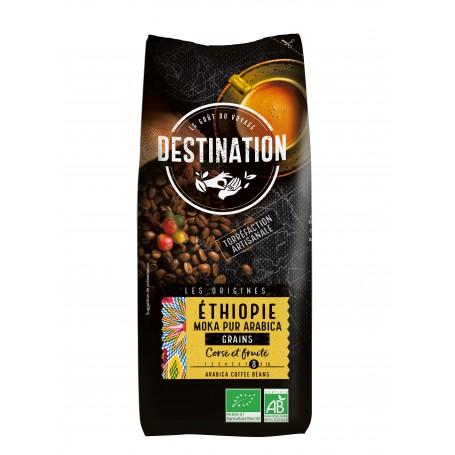 ECO DESTINATION CAFEA BOABE MOKA ORIGINI - ETIOPIA 1KG