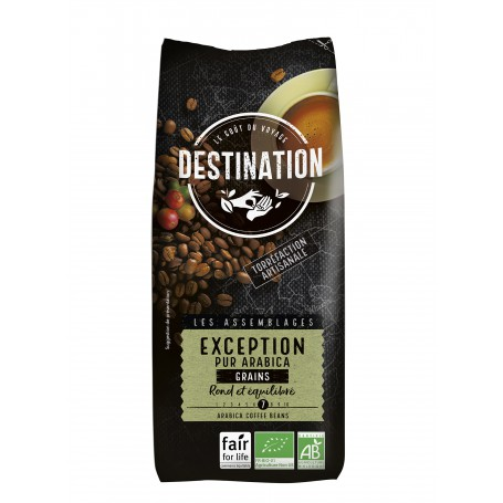 ECO DESTINATION CAFEA BOABE PUR ARABICA D'EXCEPTION 1KG
