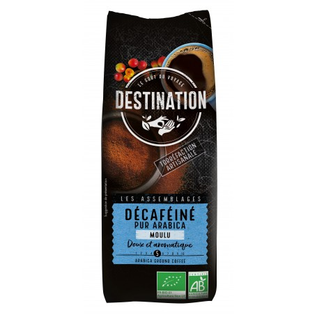 ECO DESTINATON CAFEA MACINATA PUR ARABICA - DECAF 250G