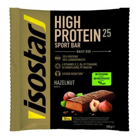 ISOSTAR POWERPLAY HIGH PROTEIN BAR ALUNE, 3X35 g