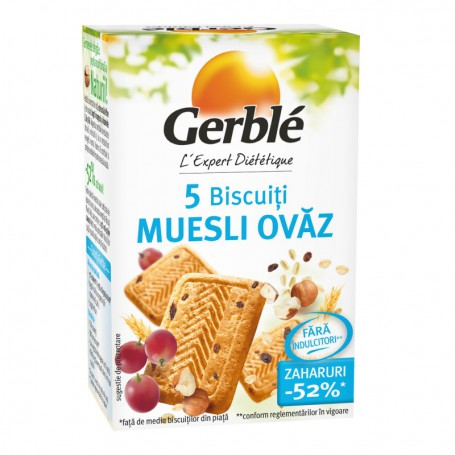GERBLE MINI PACK MUSLI-OVAZ 72,5g