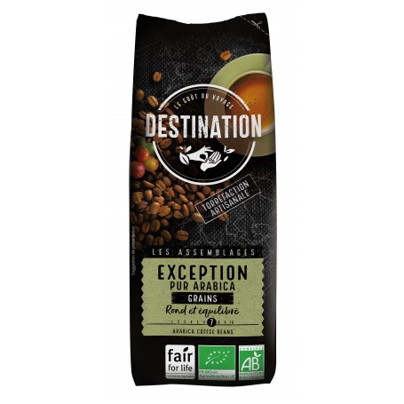 ECO DESTINATION CAFEA PUR ARABICA BOABE  EXCEPTION 250g