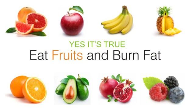 fructele ard grasimea